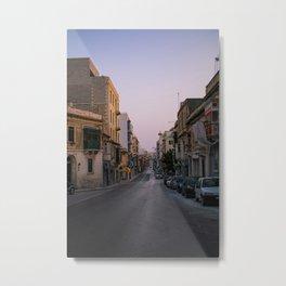 maltese streets Metal Print