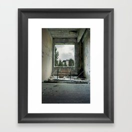 Chernobyl - номер II Framed Art Print