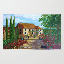 Tuscany with Cats Rug