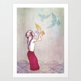 Nueva Mujer Art Print