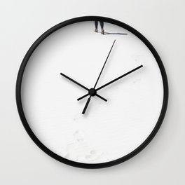 White Sands, NM Wall Clock