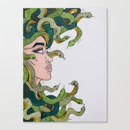 Gods and Monsters Canvas Print