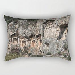 Dalyan Rock Tombs Rectangular Pillow