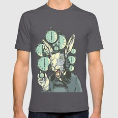 A Hare Late Asphalt Mens Fitted Tee SMALL
