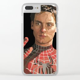 toby maguire Clear iPhone Case