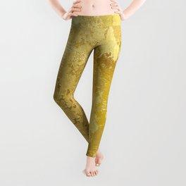 golden vintage Leggings