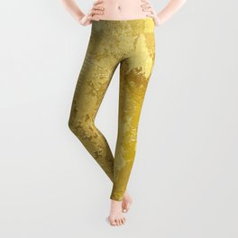 golden vintage Leggings