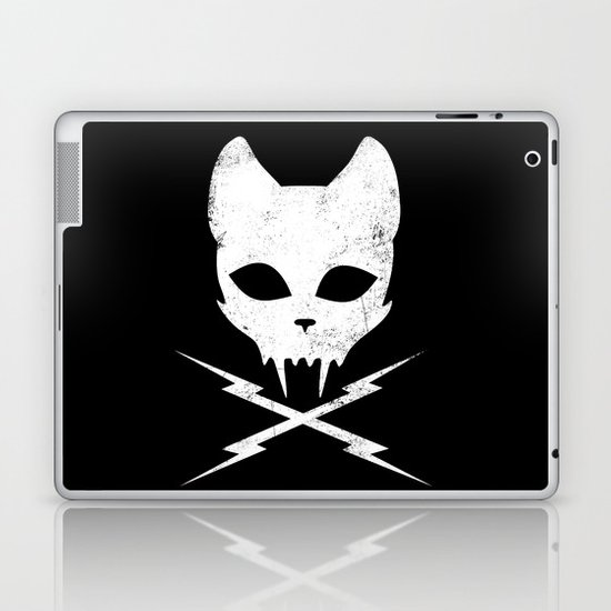 Stunt Kitty Laptop & iPad Skin