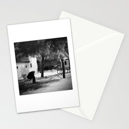 ...on the bench Stationery Cards