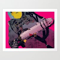 ghostbusters Art Prints featuring Ghostbusters 2 by boneface