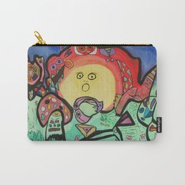 Whimsical symbiosis Carry-All Pouch
