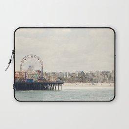 Santa Monica Pier. Happy Birthday Pacific Park!  Laptop Sleeve