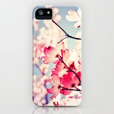 Dialogue With the Sky - Blue tones Slim Case iPhone (5, 5s)