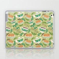 Tea Time Pattern Laptop & iPad Skin