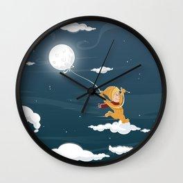 The Sand Kid Wall Clock