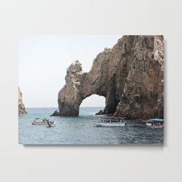 The Arch of Cabo Metal Print