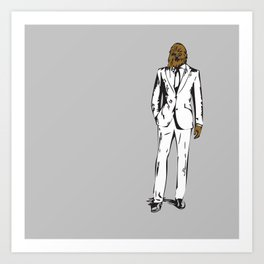 Chewy Business Art Print