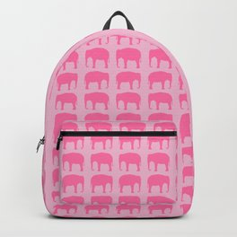 Pink Elephant(s) Backpack