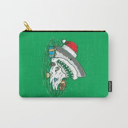 The Santa Shark Carry-All Pouch