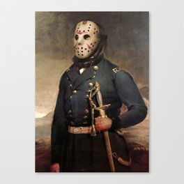 Jason Voorhees Friday The 13th Canvas Print