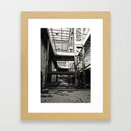 Orlando Power Station Framed Art Print