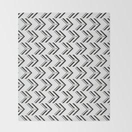 Black Arrow Tribal Canvas #society6 #decor #buyart #artprint Throw Blanket