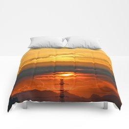 Sunset Horizon Comforters