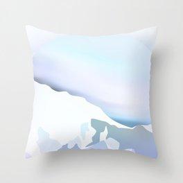 Cold Mountain Throw Pillow