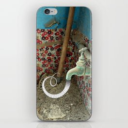 Inspiration is Flowing iPhone Skin
