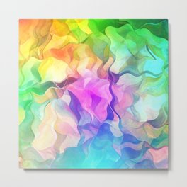 Multicolored abstract no. 37 Metal Print