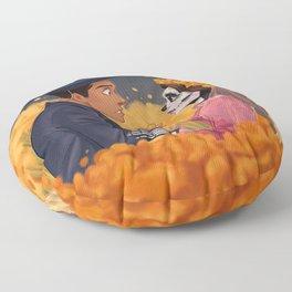 Amor eterno Floor Pillow