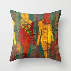 Body Language 55 Throw Pillow