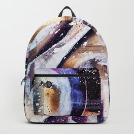 """Movement Study 4/ Warm "" - Abstract Series/Fall 2016 Backpack"