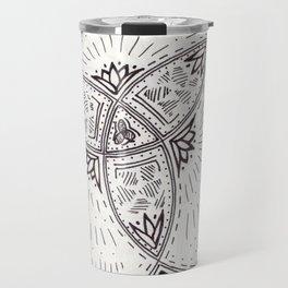 Geometric Doodle Travel Mug