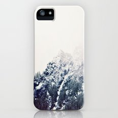 Vintage Snowy Mountain Slim Case iPhone (5, 5s)
