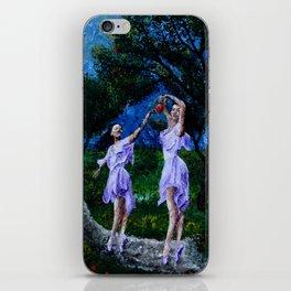 dancing in the garden of delights remix iPhone Skin