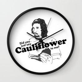 Cauliflower Wall Clock