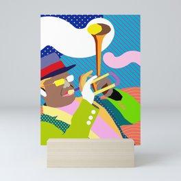 Bent Trumpet Mini Art Print