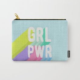 GRL PWR x Blue Carry-All Pouch