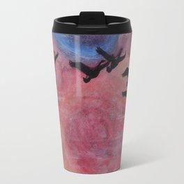 Freedom Flyers Acrylic Painting Travel Mug