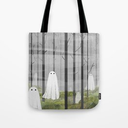 The Woods are full of Ghosts Tote Bag