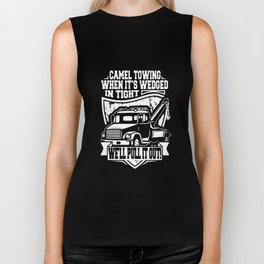 camael towing when it's wedged in night we'll pull it out farm truck Biker Tank
