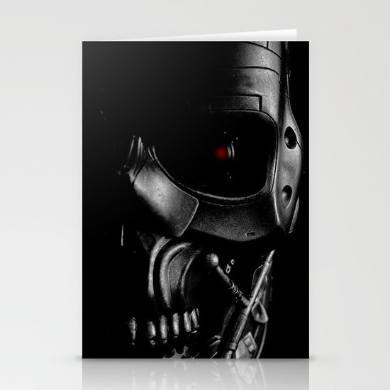 Endoskeleton Stationery Cards