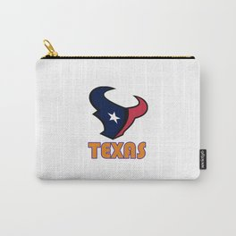 Texas longhorns Carry-All Pouch