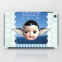 glee iPad Cases featuring ocean glee  by Kelli May-Krenz