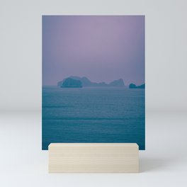 Foggy Horizon in Ha Long Bay, Vietnam. Nature Photography. Mini Art Print