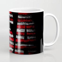 Distressed USA Flag Coffee Mug