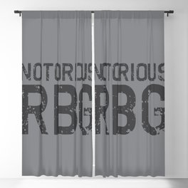 Notorious RBG R.B.G Blackout Curtain