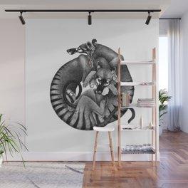 Thylacines Wall Mural