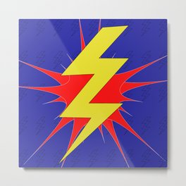 Lightning Bolt Metal Print